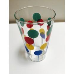 lot de 6 verres à limonades motifs colorés