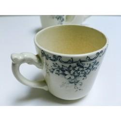 Lot de 3 tasses à café en porcelaine
