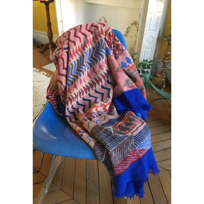 Plaid ou large étole en laine April by Christine