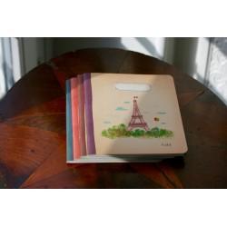Petit carnet à ligne Tour Eiffel