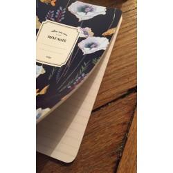 mini notebook navy
