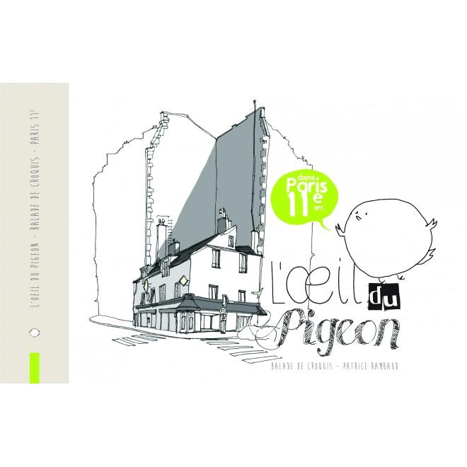 carnet de croquis Paris11ème