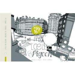 carnet de croquis Paris 16ème