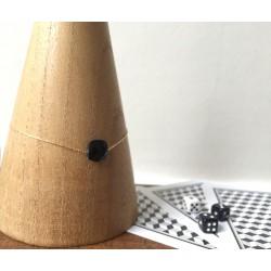 Bracelet STAR laiton doré pierre semi précieuse