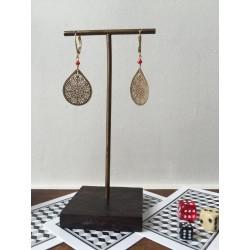 earrings ORI red