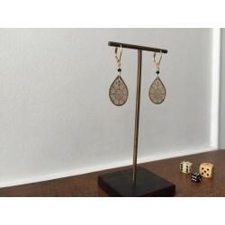 earrings ORI black
