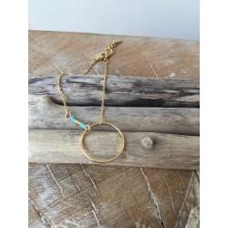 bracelet ANNEAU turquoise