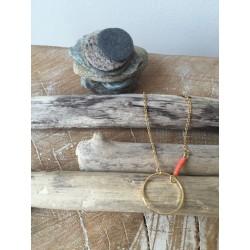 bracelet ANNEAU corail